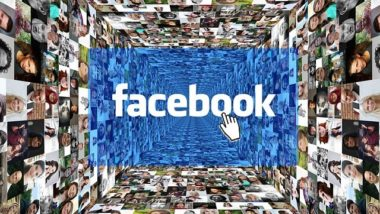 Facebook logo with image profile pictures