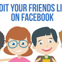 Edit Your Friends List on Facebook