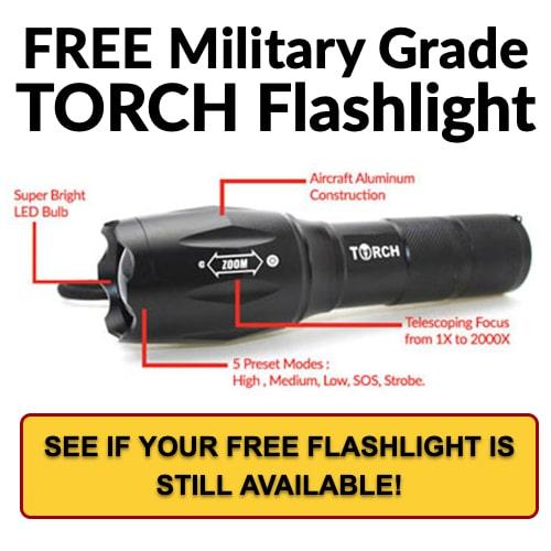 Free Tactical Flashlight - CLICK